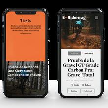 <cite>E-Ridermag</cite> website
