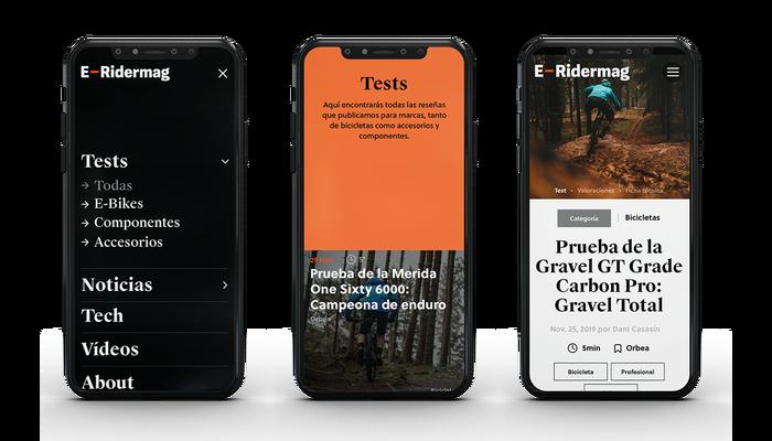 E-Ridermag website 2
