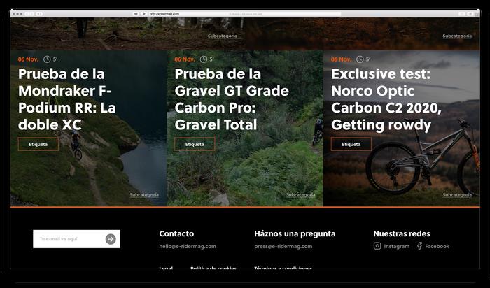 E-Ridermag website 5