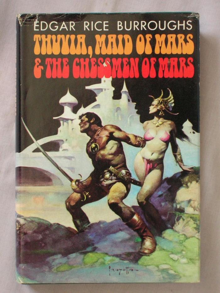 Thuvia, Maid of Mars & The Chessmen of Mars by Edgar Rice Burroughs (Doubleday, 1972) 3