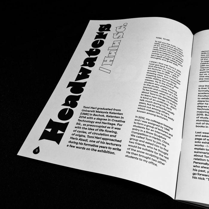 Tomi Heri – SG. exhibition catalogue 3