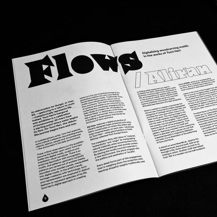 Tomi Heri – SG. exhibition catalogue 1