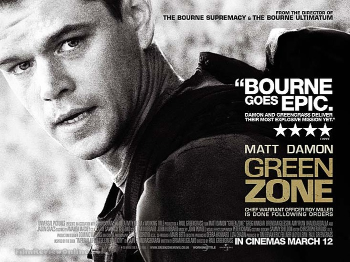 Green Zone movie poster 1