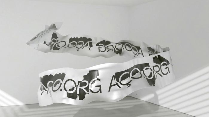 AÇO virtual banner.