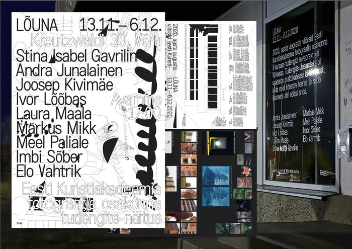 Lõuna exhibition visual system 1