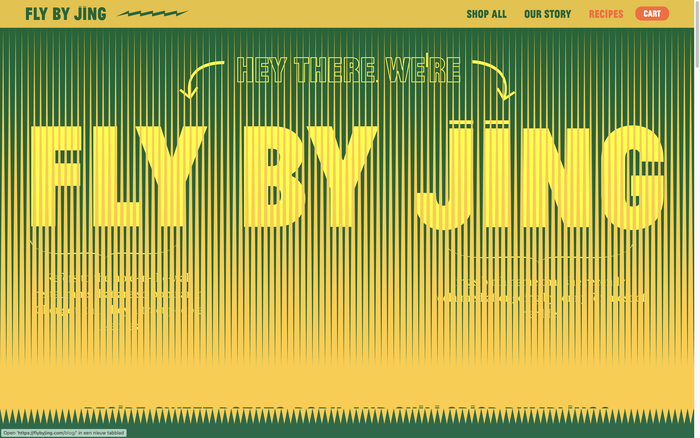 Fly by Jing packaging and website 6