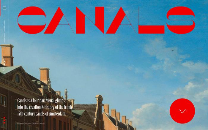 Amsterdam Canals website 1