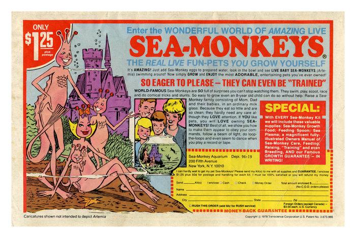 Sea-Monkeys ad (1978)