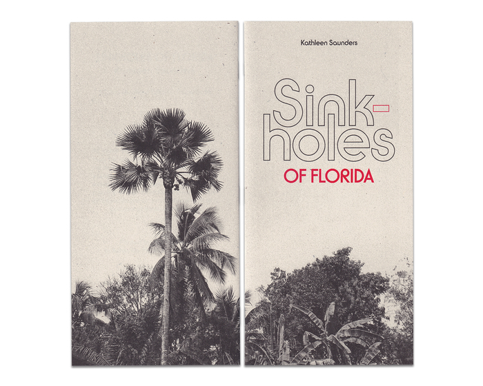 Sinkholes of Florida by Kathleen Saunders (Drum Machine Editions, 2020) 1