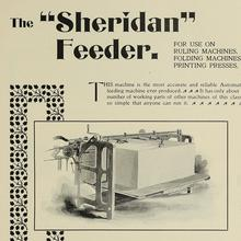 "The ""Sheridan"" Feeder ad"