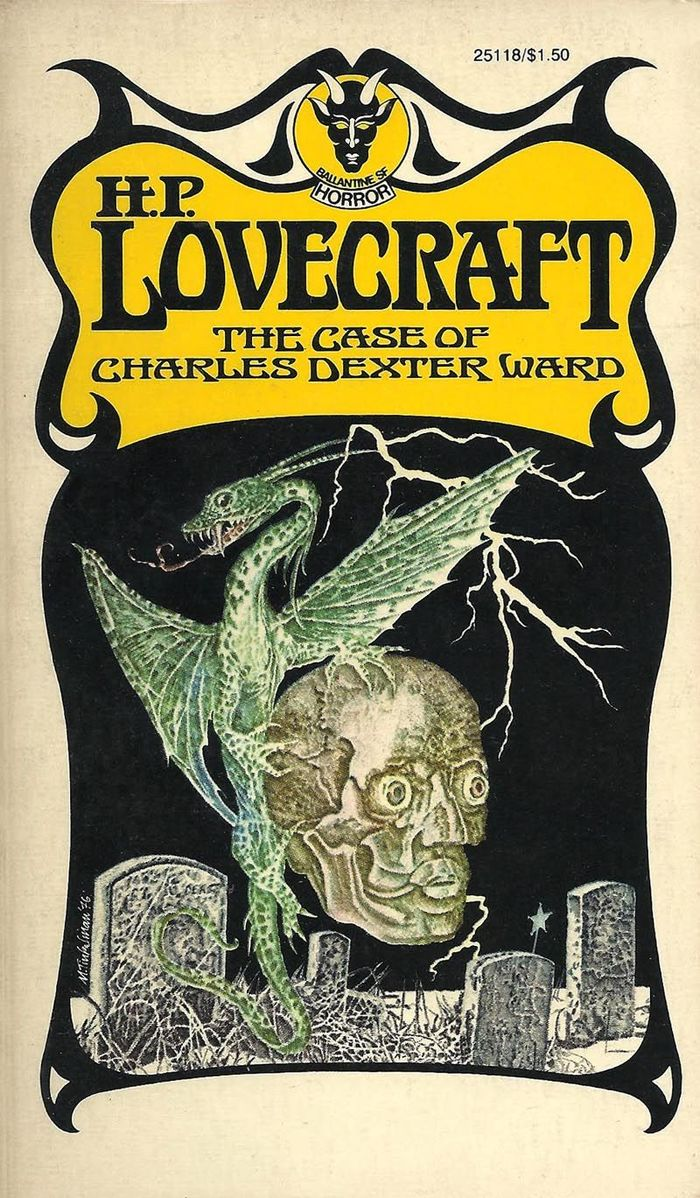 The Case of Charles Dexter Ward by H.P. Lovecraft. [More info on ISFB]
