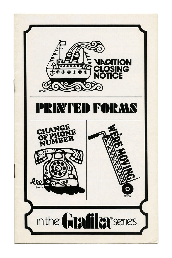 """""""Printed Forms"""" (No. G69) ft. ,  (with alternates), , and ."""