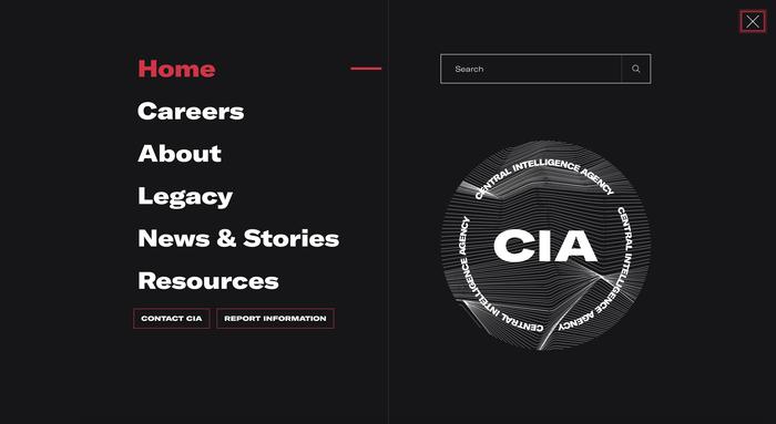 cia.gov (2021 rebrand) 2