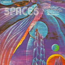 Larry Coryell – <cite>Spaces</cite> album art