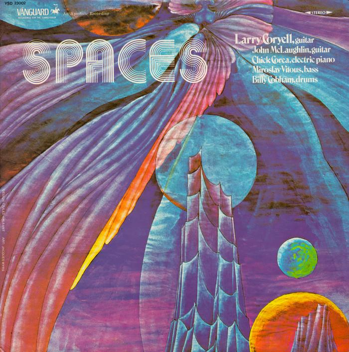 Larry Coryell – Spaces album art