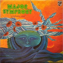 Major Symphony – <cite>Prophetic Soul</cite> (1974) and <cite>Odyssea</cite> (1976) album art