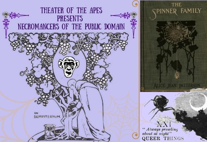 Necromancers of the Public Domain promos 3