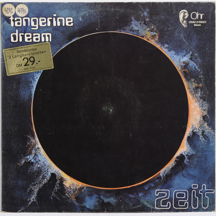 Tangerine Dream – Zeit album art 1