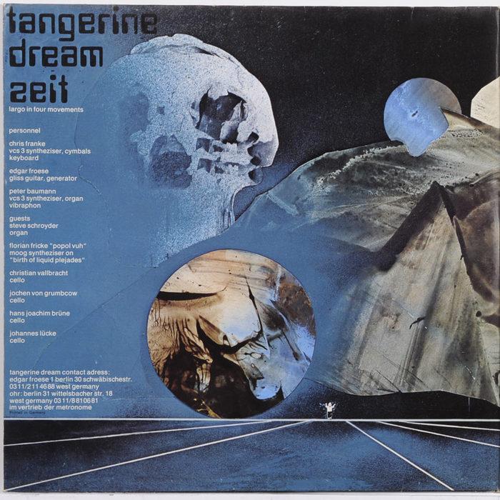 Tangerine Dream – Zeit album art 3