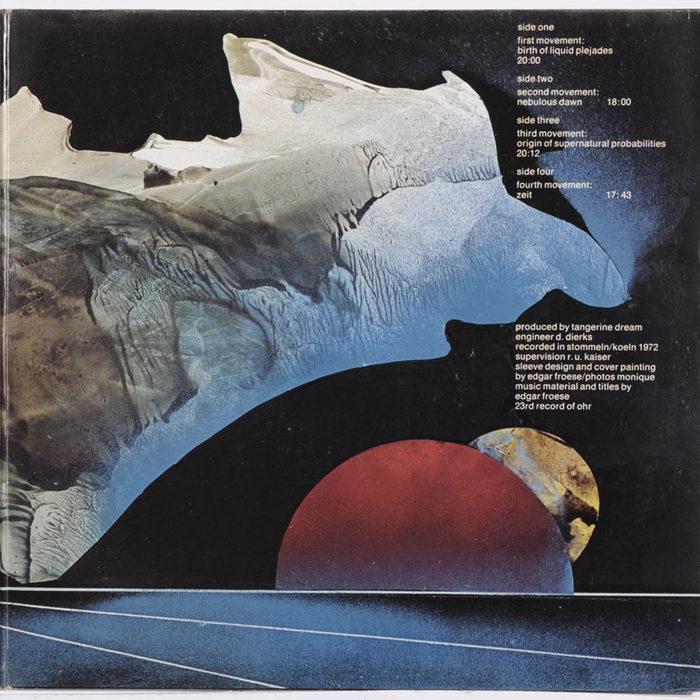 Tangerine Dream – Zeit album art 4
