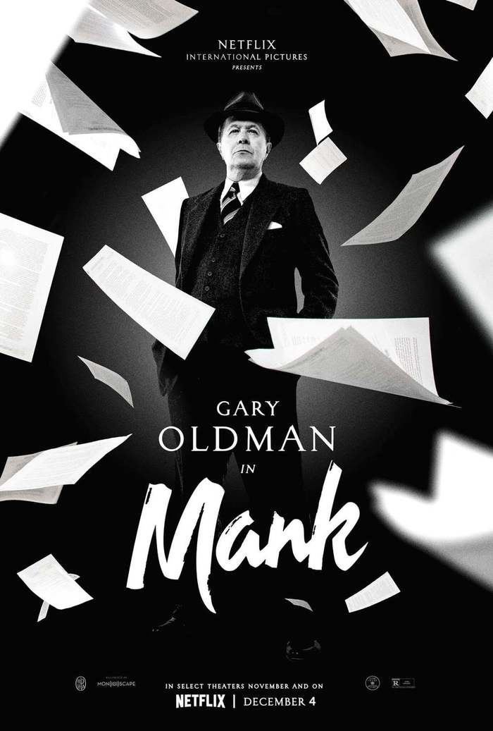 Mank (2020) posters, titles, promotional materials 2
