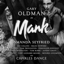 <cite>Mank</cite> (2020) posters, titles, promotional materials