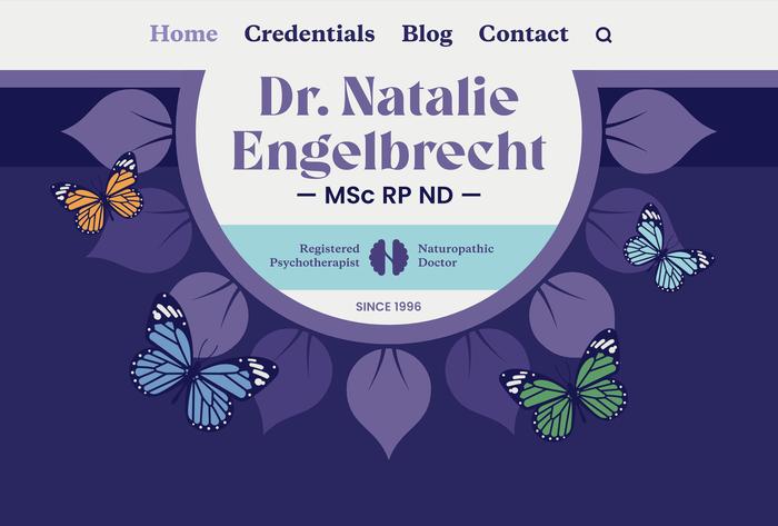 Dr. Natalie Engelbrecht website 1