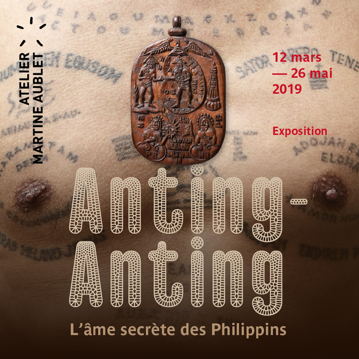 Web poster for the Anting-Anting exhibition featuring Gothic Lab Croco.