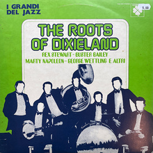 <cite>The Roots of Dixieland</cite> album art