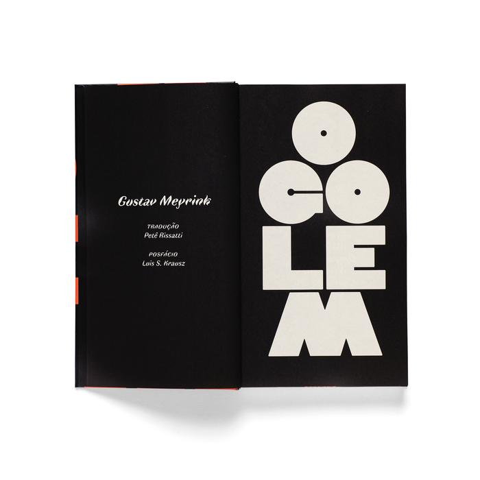 O Golem (The Golem) by Gustav Meyrink (Carambaia) 4