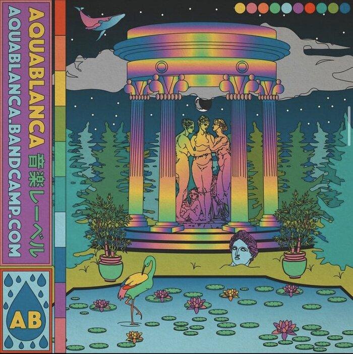 VA – Aquablanca 音楽レーベル (front)