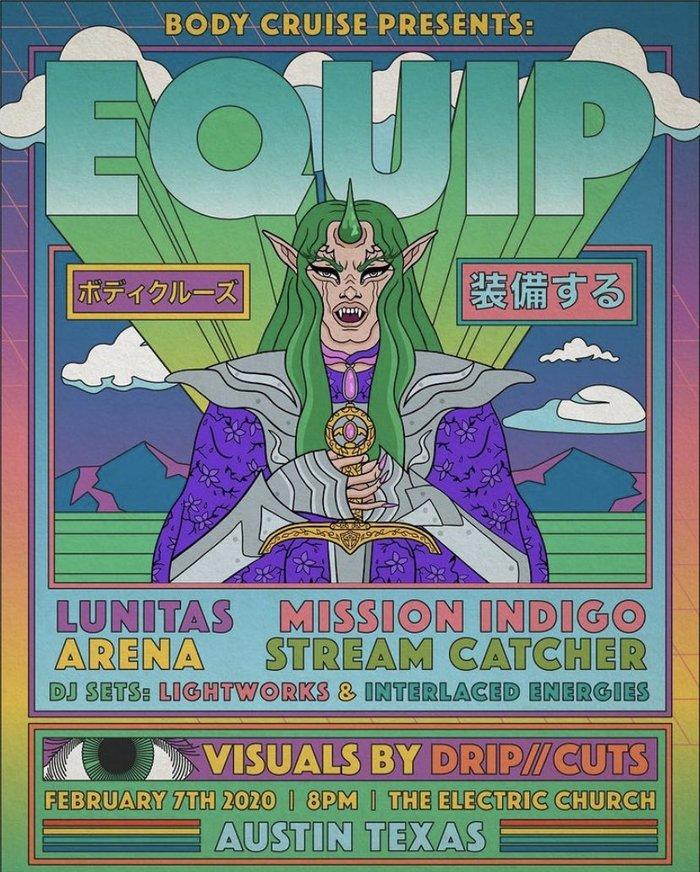 Body Cruise presents Equip poster
