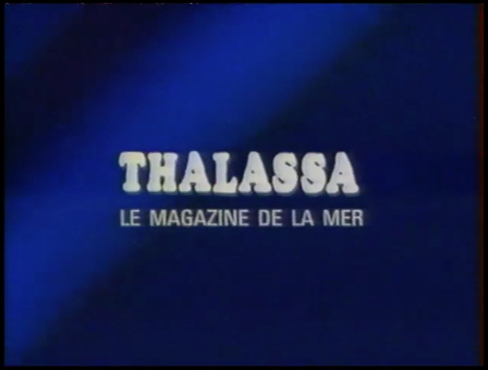 The Thalassa title card.  Condensed is used for the subtitle.