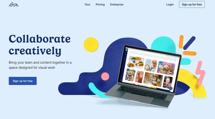 Air branding and website 1