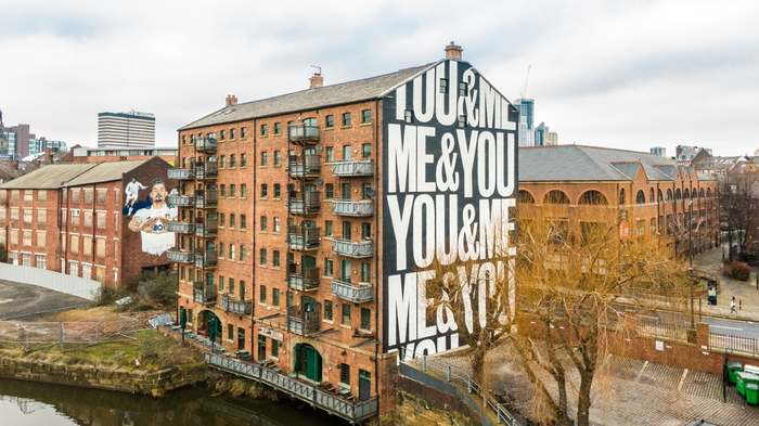 """""""YOU&ME&ME&YOU"""" mural 4"""