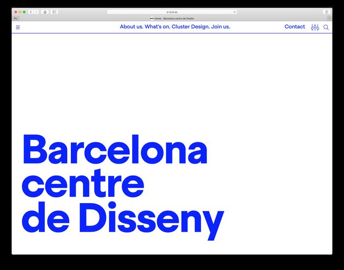 Barcelona Centre de Disseny 1