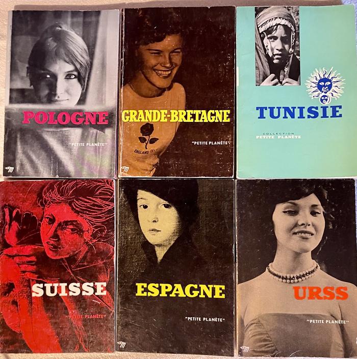 """""""Petite Planète"""" guidebook series, Éditions du Seuil 1"""