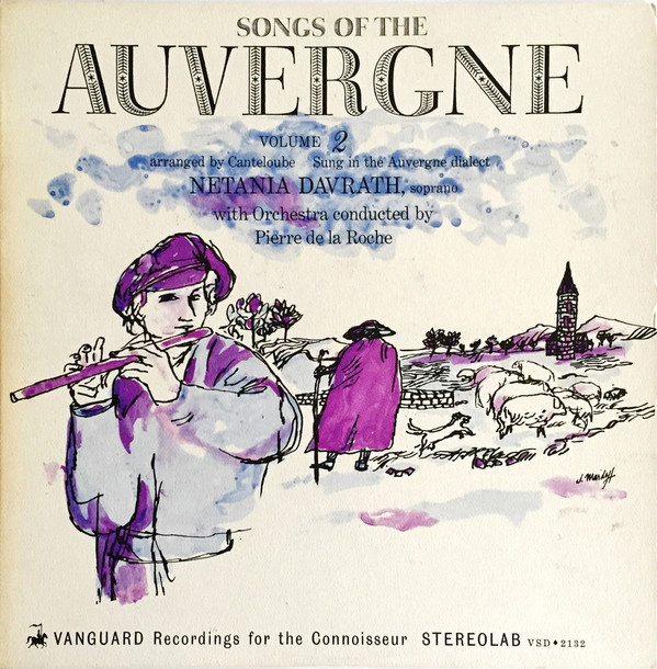 Songs Of The Auvergne, vol. 1 and 2 album art 2