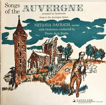 <cite>Songs Of The Auvergne,</cite> vol. 1 and 2 album art