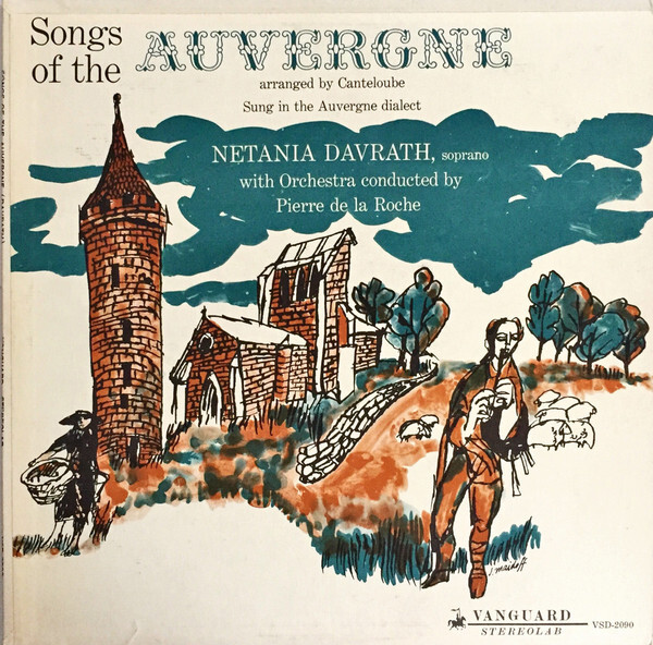 Songs Of The Auvergne, vol. 1 and 2 album art 1