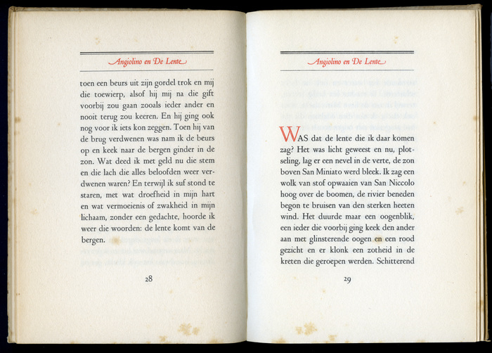 Arthur van Schendel – Angiolino en de Lente 8