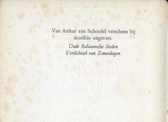 Opening page, detail.