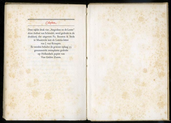 Arthur van Schendel – Angiolino en de Lente 10