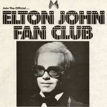 Elton John Fan Club ad (1974)