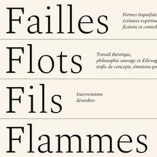 Failles Flots Fils Flammes website