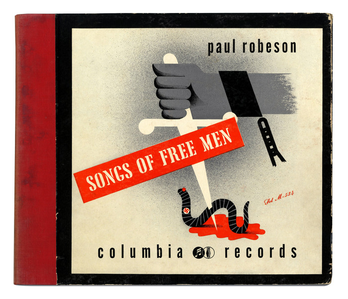 Paul Robeson – Songs of Free Men album art 2