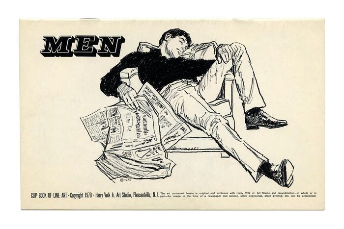 """Men"" (No. 198) ft. . Illustration by Tom Sawyer."