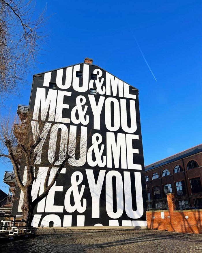 """""""YOU&ME&ME&YOU"""" mural 1"""