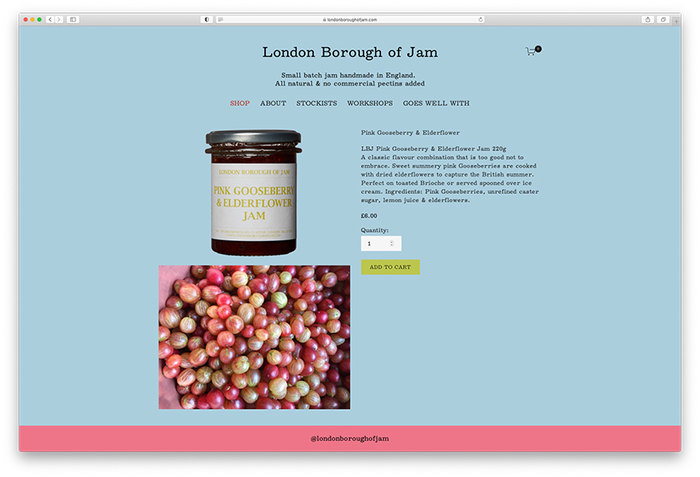 London Borough of Jam website (2020) 4