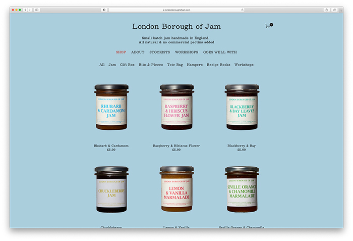 London Borough of Jam website (2020) 5
